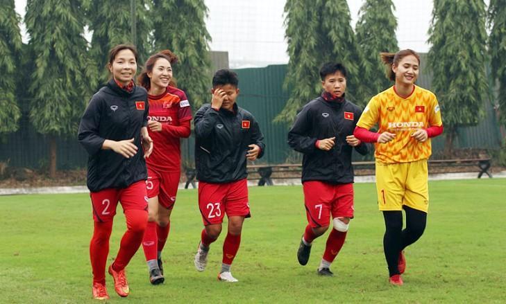 Đội tuyển nữ Việt Nam sang Hàn Quốc tham dự VL 3 Olympic Tokyo 2020