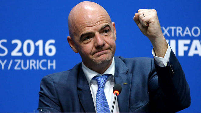 Dưới thời chủ tịch FIFA mới, World Cup sẽ có 48 đội tranh tài ở VCK?