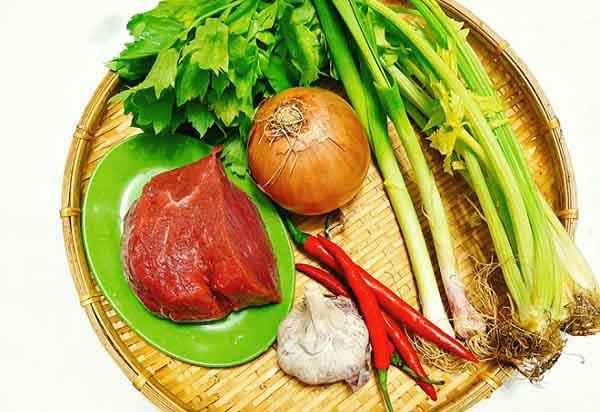 Bò xào cần món ăn thơm ngon tốt cho sức khỏe