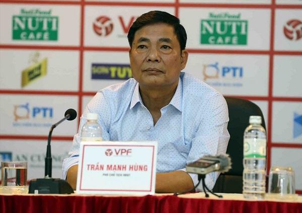 Chửi Phó Ban trọng tài, Phó Chủ tịch VPF Trần Mạnh Hùng buộc phải từ chức