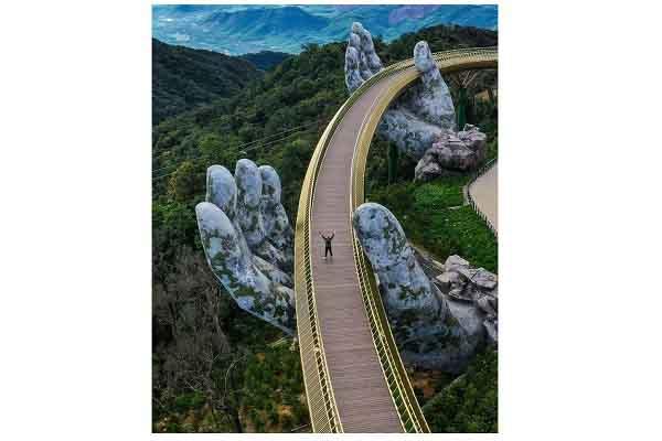 Bức ảnh Cầu vàng ở Việt Nam đạt giải thưởng nhiếp ảnh kiến trúc #Architecture2020