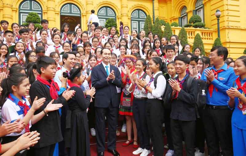 Bức thư cuối cùng Chủ tịch nước Trần Đại Quang viết cho các cháu thiếu nhi nhân dịp Tết Trung thu