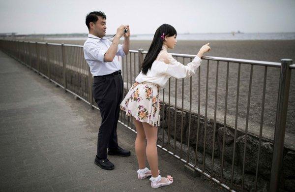 Công nghệ búp bê tình dục ở Nhật phát triển cấp độ mới