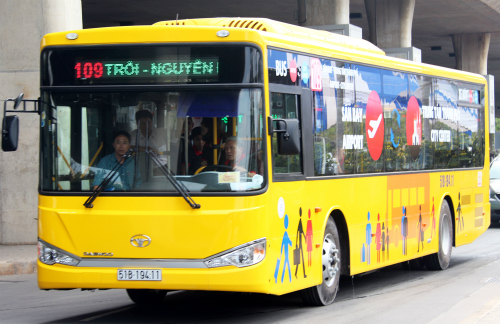 TP.HCM muốn có tuyến buýt từ sân bay Tân Sơn Nhất đi các tỉnh