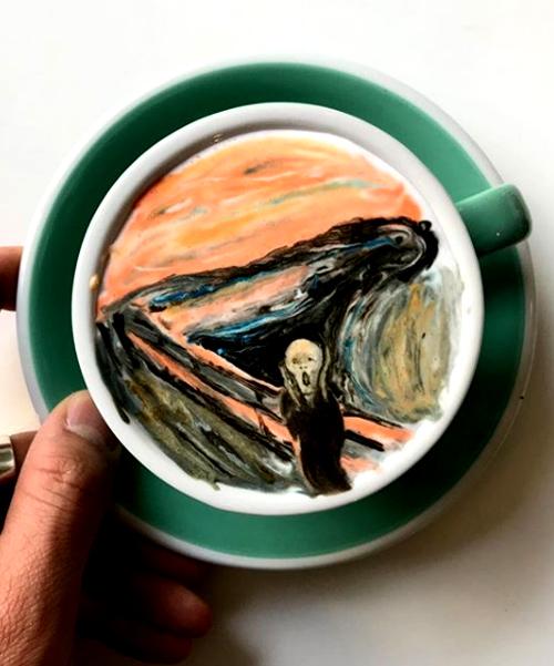 Cà phê Seoul - Tác phẩm nghệ thuật trên từng thức uống