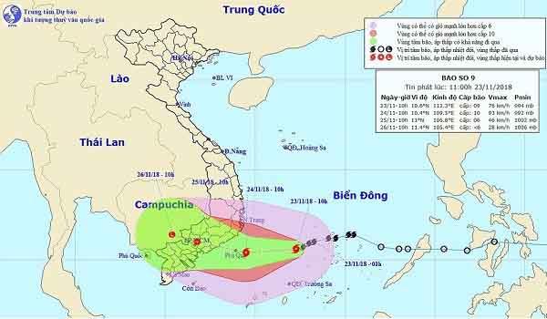 Cần Giờ sẵn sàng sơ tán hơn 4.000 dân tránh bão Usagi