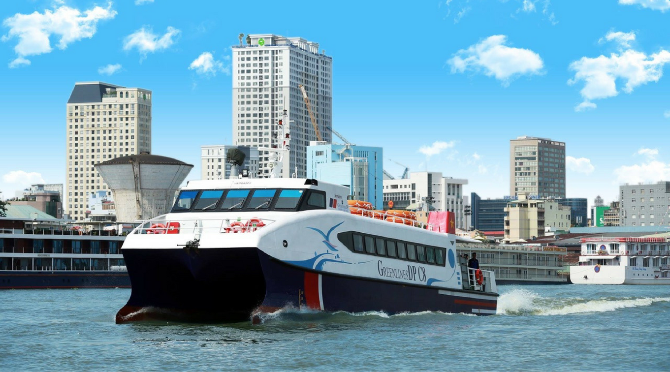 Tàu cao tốc từ bến Bạch Đằng đến Cần Giờ giảm giá 100.000đ/người