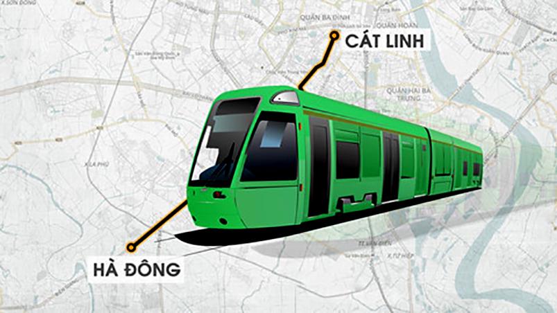 Tuyến tàu chạy điện metro Cát Linh – Hà Đông vận hành thế nào?