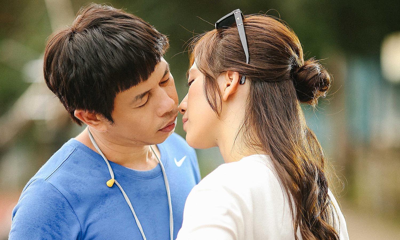 Hậu trường cảnh hôn kéo dài 2 ngày trong phim 'Chàng vợ của em'