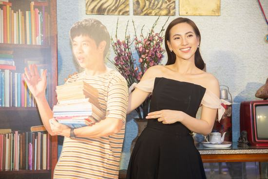 Thái Hòa 'khỏa thân' trong một cảnh quay mới