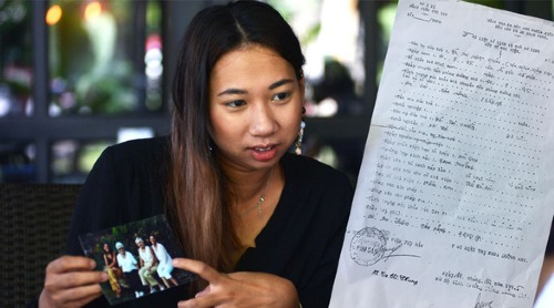 Cô gái Pháp đã tìm thấy người mẹ Việt