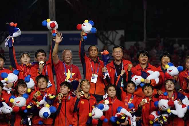 Điểm lại những hình ảnh gay cấn của các cô gái vàng bóng đá Việt Nam trận tối qua