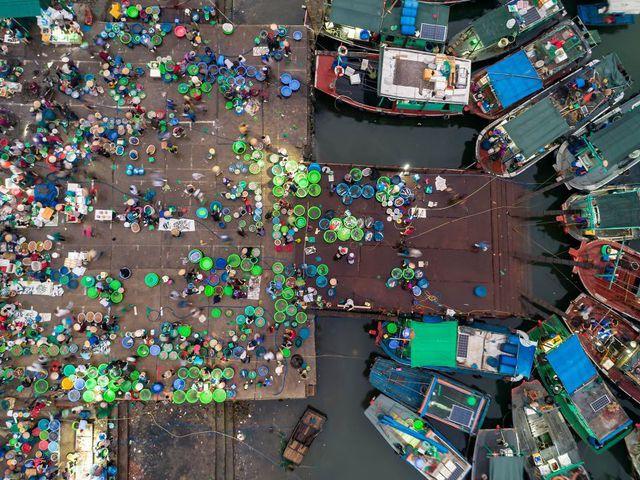 Việt Nam tuyệt đẹp qua hai bức ảnh nhìn từ không trung