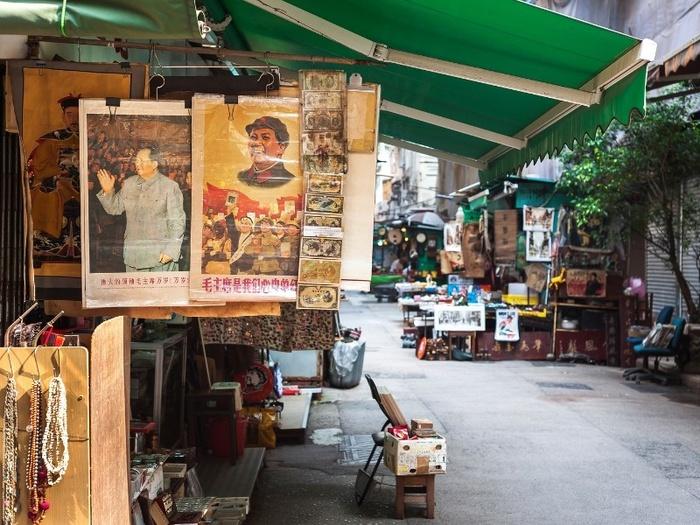 Những khu chợ độc đáo ở Hong Kong