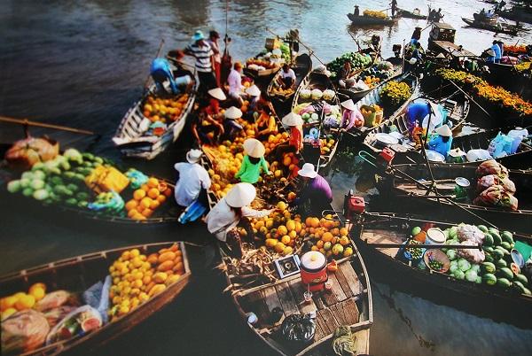 Đồng bằng sông Cửu Long lọt 'top' điểm đến hấp dẫn tháng 12