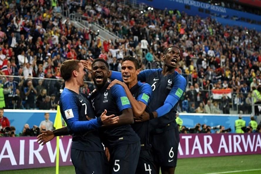 Lần thứ 3 lọt vào trận chung kết World Cup, Pháp lập nhiều kỷ lục đáng nể
