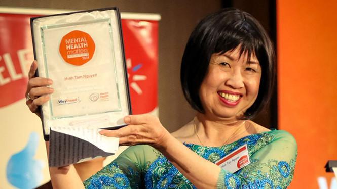 Chuyên gia gốc Việt nhận giải thưởng vì cộng đồng