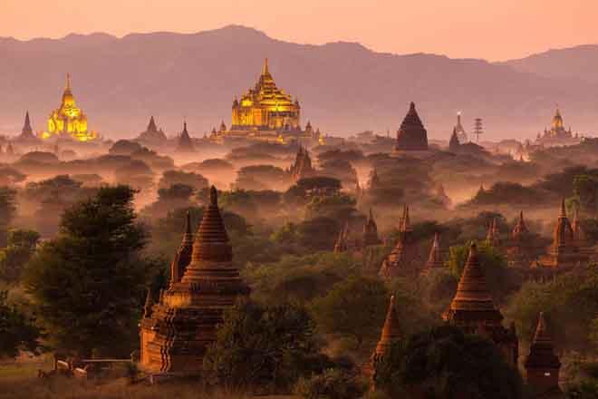 Cố đô Bagan (Myanmar) được Unesco công nhận