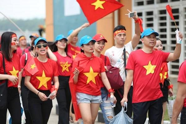 Việt Nam có lượng cổ động viên đến sân hùng hậu nhất tại AFF Cup 2018