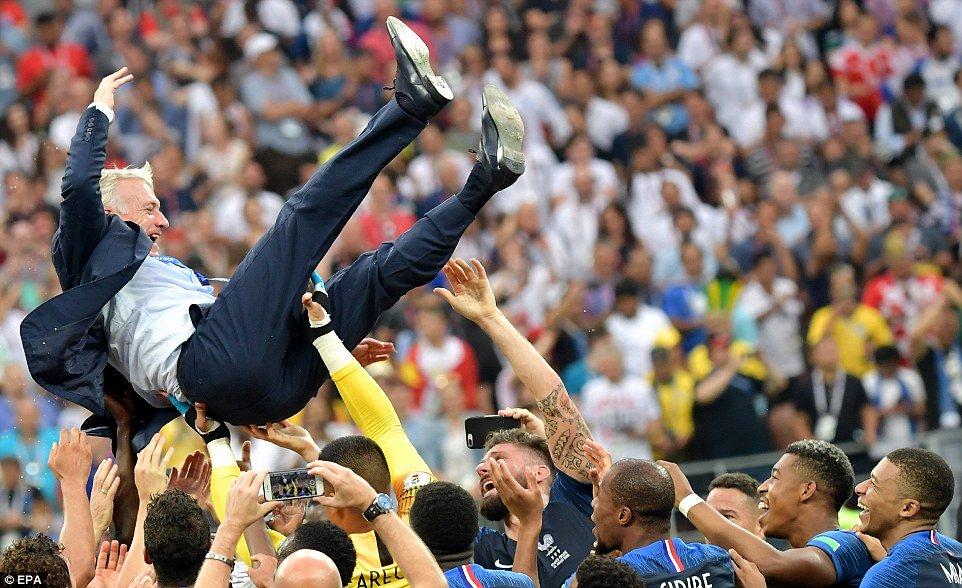 Top 10 con số ấn tượng tại World Cup 2018
