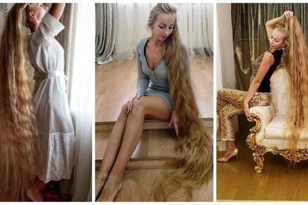 Công chúa tóc Mây, 28 năm không cắt tóc