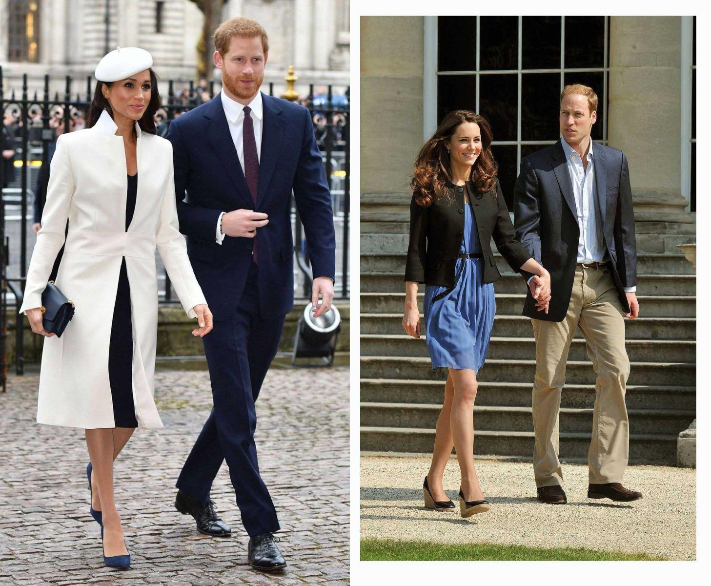 10 thương hiệu thời trang được hai 'nàng dâu' Hoàng gia Anh mê mẩn