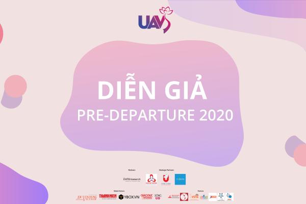 Hé lộ dàn diễn giả đặc biệt của sự kiện Pre-Departure 2020