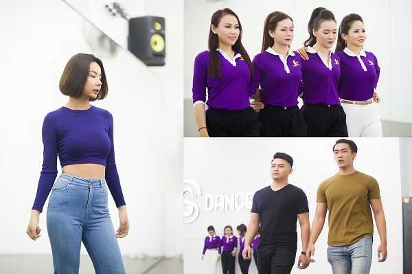 Siêu mẫu Lại Thanh Hương rạng rỡ chỉ dẫn diễn xuất cho thí sinh MR &MS International Business