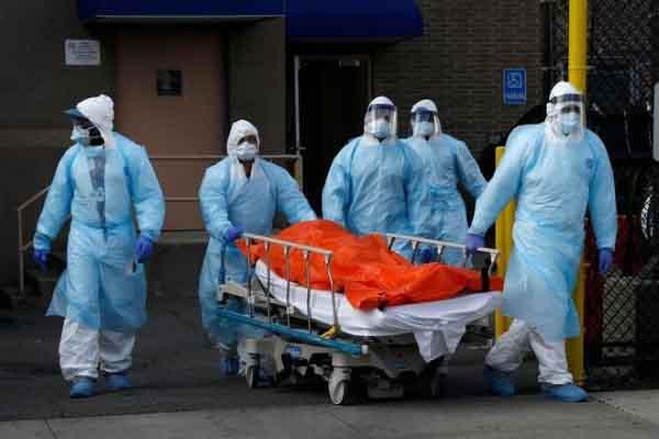 Dự báo 20.000 người Mỹ sẽ chết vì COVID-19 trong 3 tuần tới