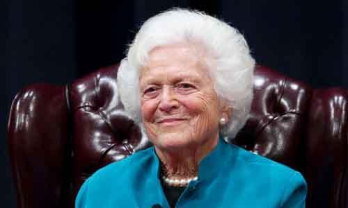 Bà Barbara Bush - Cựu đệ nhất phu nhân Mỹ qua đời