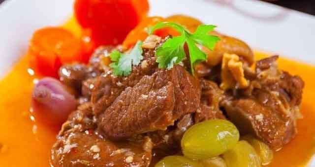 Món ngon Ninh Thuận - Cừu om nho