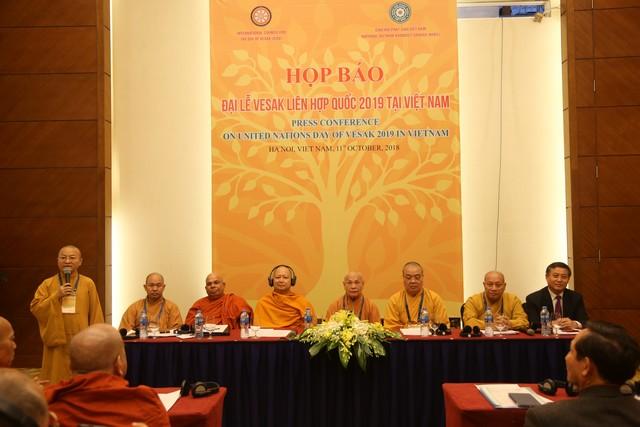 Đại lễ Vesak Liên Hợp Quốc 2019 sẽ được tổ chức tại Việt Nam