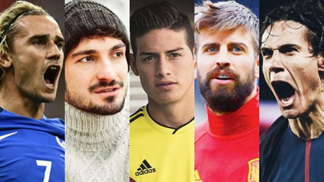 Top 10 cầu thủ đẹp trai nhất tham dự World cup 2018