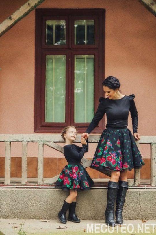 Phối đồ ăn ý cho mẹ và con gái