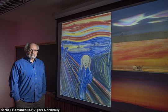"""'Vén màn' bí mật giấu kín suốt 120 năm của siêu phẩm hội họa""""Tiếng thét"""""""