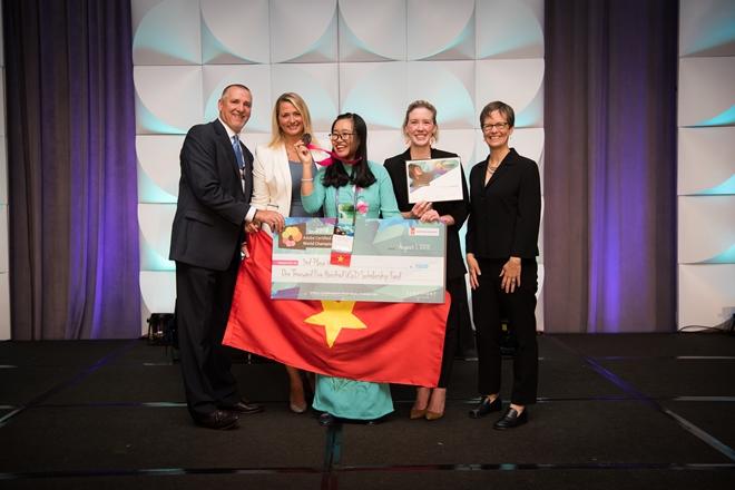 Việt Nam lần đầu tiên giành Huy chương thiết kế đồ họa thế giới 2018