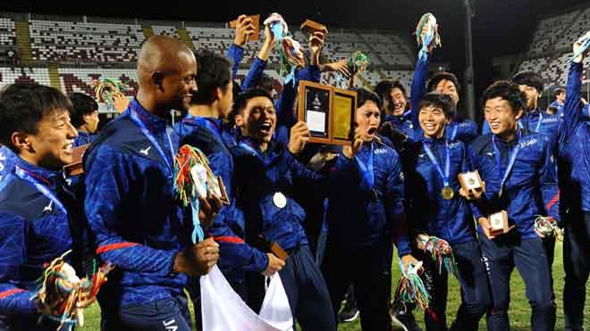 Sinh viên Nhật Bản tham dự giải bóng đá U.21 quốc tế 2019