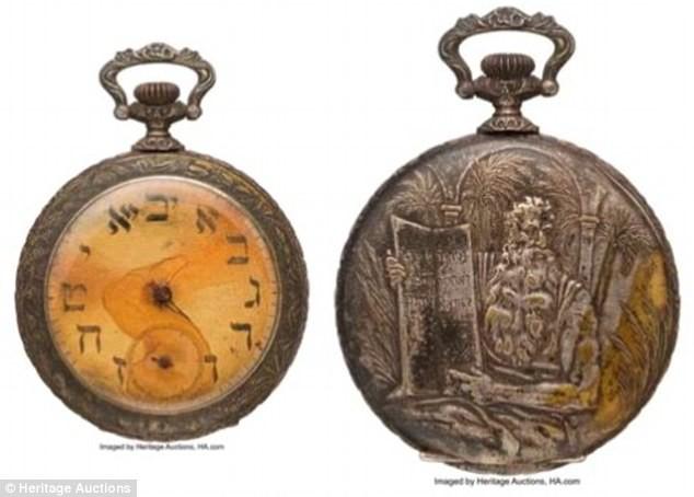 Chiếc đồng hồ giá trị được tìm thấy sau vụ đắm tàu Titanic