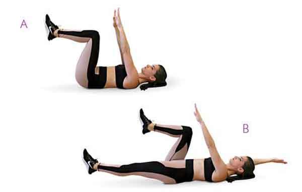 Tự chữa đau lưng bằng 4 động tác sau