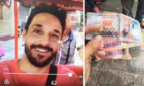 Du khách nước ngoài đến Hà Nội ngỡ ngàng vì bị trả tiền âm phủ