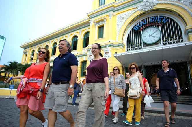 14,1 triệu lượt khách quốc tế đã đến Việt Nam