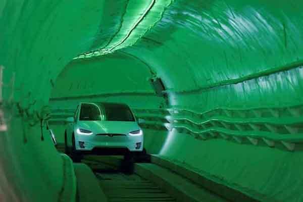Cảm giác dịch chuyển nhanh ở đường hầm tránh tắc đường đầu tiên trên thế giới