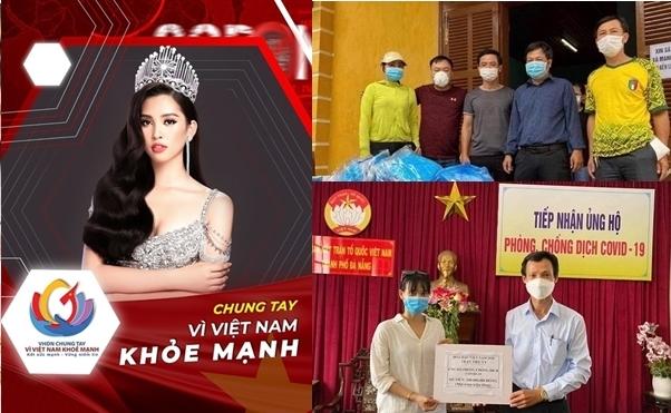 Hoa hậu Tiểu Vy chung tay chống COVID-19 cùng quê nhà Quảng Nam – Đà Nẵng