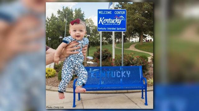 Người trẻ nhất du lịch khắp nước Mỹ là một bé gái 5 tháng tuổi