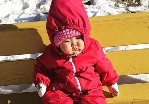Cách chăm trẻ khi mùa đông tới