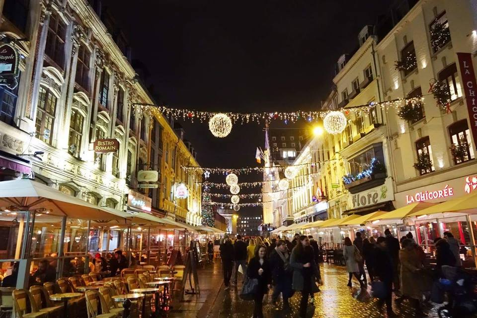 Đặc biệt: Đón Giáng sinh nơi thành phố hoài cổ Lille