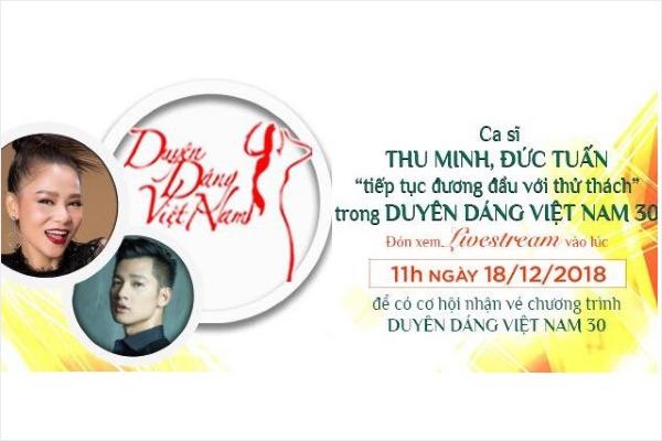 Livestream giao lưu với hai ca sĩ Thu Minh và Đức Tuấn