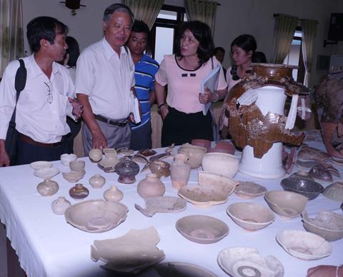 Phát hiện nhiều lò gốm của người Chăm thế kỷ 14-15