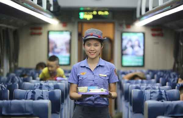 Cận cảnh toa tàu chất lượng cao vừa được ngành đường sắt đưa vào hoạt động