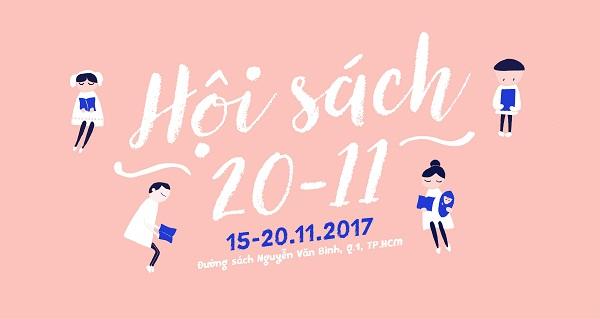 Hội sách 20-11 tri ân thầy cô tại thành phố Hồ Chí Minh